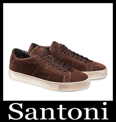 Shoes Santoni 2018 2019 Men's New Arrivals Winter 18