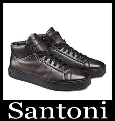 Shoes Santoni 2018 2019 Men's New Arrivals Winter 19