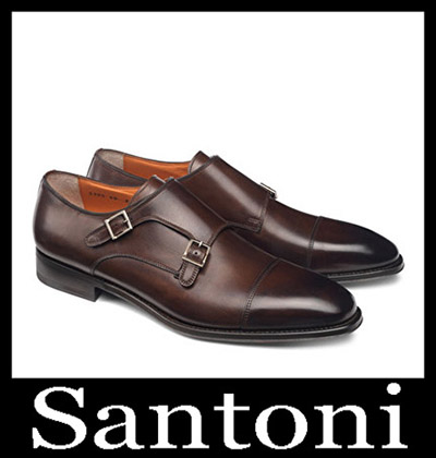 Shoes Santoni 2018 2019 Men's New Arrivals Winter 2