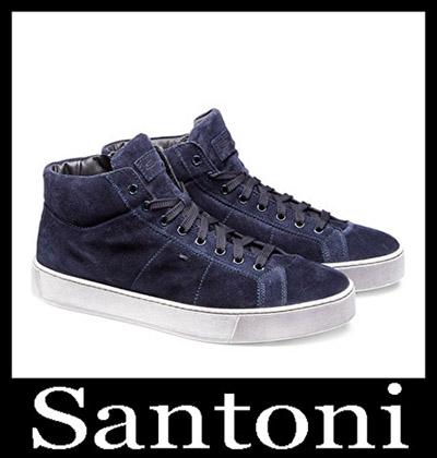 Shoes Santoni 2018 2019 Men's New Arrivals Winter 20