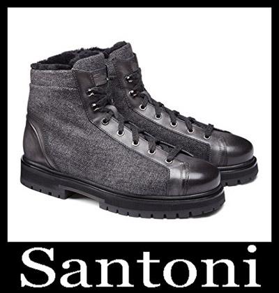 Shoes Santoni 2018 2019 Men's New Arrivals Winter 21