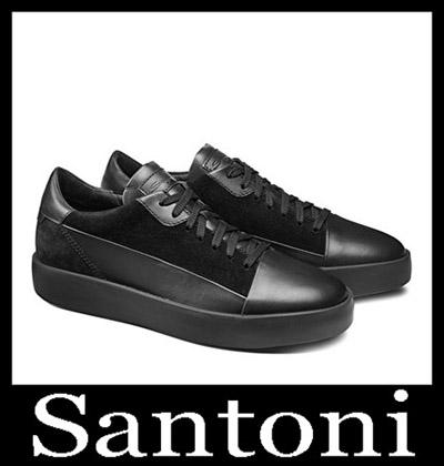 Shoes Santoni 2018 2019 Men's New Arrivals Winter 22