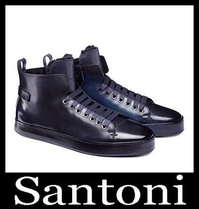 Shoes Santoni 2018 2019 Men's New Arrivals Winter 23