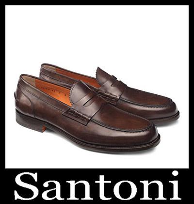 Shoes Santoni 2018 2019 Men's New Arrivals Winter 24