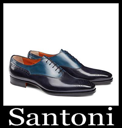 Shoes Santoni 2018 2019 Men's New Arrivals Winter 26