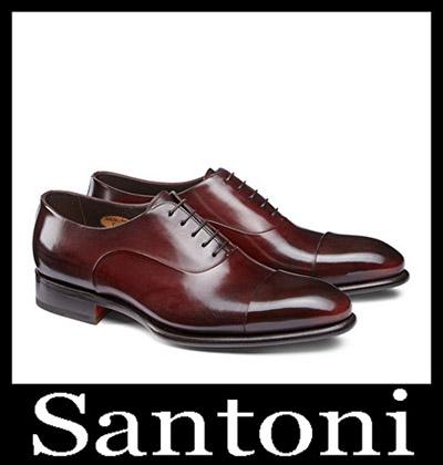 Shoes Santoni 2018 2019 Men's New Arrivals Winter 36