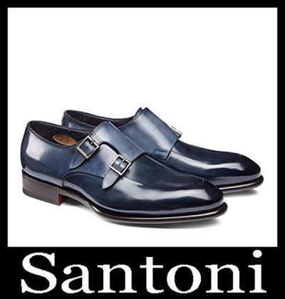 Shoes Santoni 2018 2019 Men's New Arrivals Winter 38