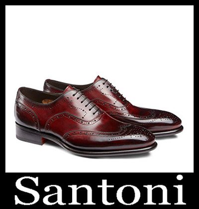 Shoes Santoni 2018 2019 Men's New Arrivals Winter 39
