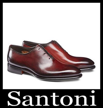 Shoes Santoni 2018 2019 Men's New Arrivals Winter 40