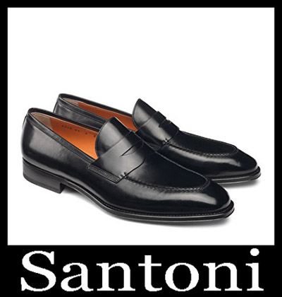 Shoes Santoni 2018 2019 Men's New Arrivals Winter 41