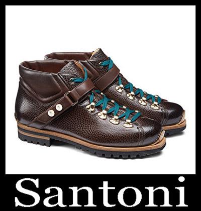 Shoes Santoni 2018 2019 Men's New Arrivals Winter 42