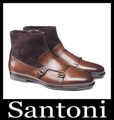 Shoes Santoni 2018 2019 Men's New Arrivals Winter 43
