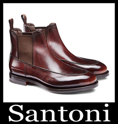 Shoes Santoni 2018 2019 Men's New Arrivals Winter 44