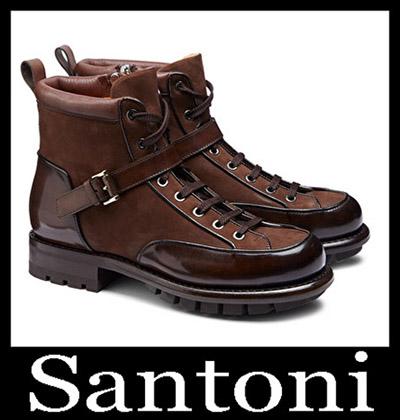 Shoes Santoni 2018 2019 Men's New Arrivals Winter 45