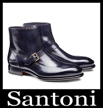 Shoes Santoni 2018 2019 Men's New Arrivals Winter 48