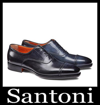 Shoes Santoni 2018 2019 Men's New Arrivals Winter 5