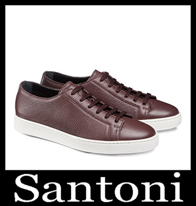 Shoes Santoni 2018 2019 Men's New Arrivals Winter 6