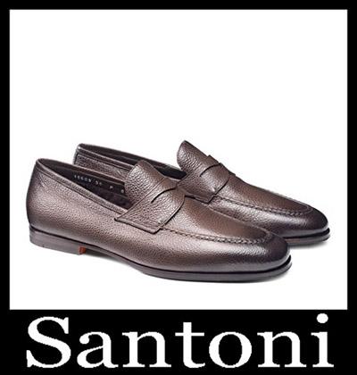 Shoes Santoni 2018 2019 Men's New Arrivals Winter 7