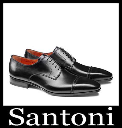 Shoes Santoni 2018 2019 Men's New Arrivals Winter 9