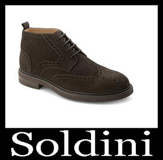 Shoes Soldini 2018 2019 Men's New Arrivals Fall Winter 1