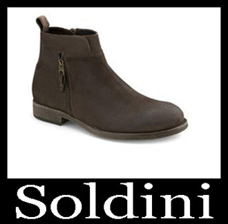 Shoes Soldini 2018 2019 Men's New Arrivals Fall Winter 12