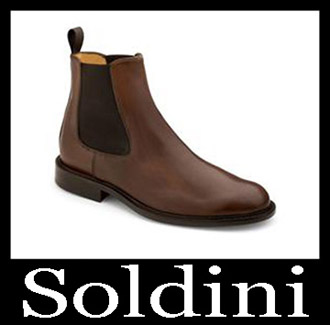 Shoes Soldini 2018 2019 Men's New Arrivals Fall Winter 16