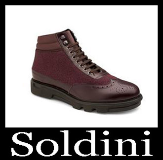 Shoes Soldini 2018 2019 Men's New Arrivals Fall Winter 17
