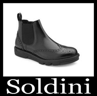 Shoes Soldini 2018 2019 Men's New Arrivals Fall Winter 18