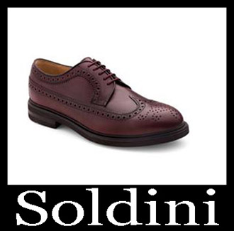 Shoes Soldini 2018 2019 Men's New Arrivals Fall Winter 19