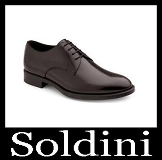 Shoes Soldini 2018 2019 Men's New Arrivals Fall Winter 2
