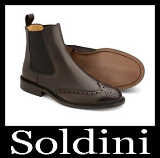 Shoes Soldini 2018 2019 Men's New Arrivals Fall Winter 23