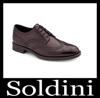 Shoes Soldini 2018 2019 Men's New Arrivals Fall Winter 4