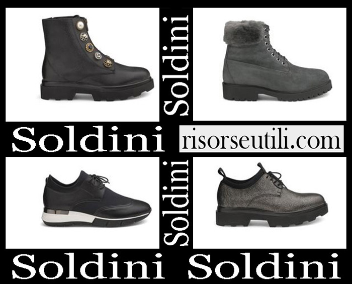 Shoes Soldini 2018 2019 Women's New Arrivals Fall Winter