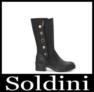 Shoes Soldini 2018 2019 Women's New Arrivals Winter 22