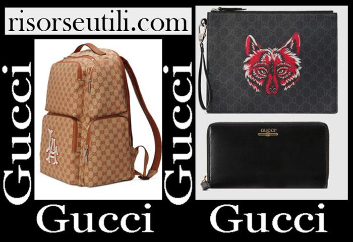New Arrivals Gucci 2019 Men's Accessories
