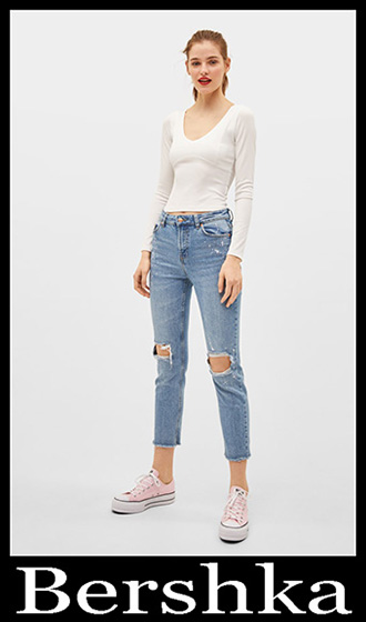 Jeans Bershka 2019 Women's New Arrivals Summer 18