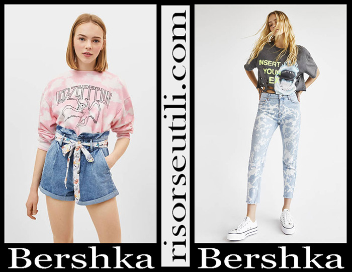 New Arrivals Bershka 2019 Women's Denim