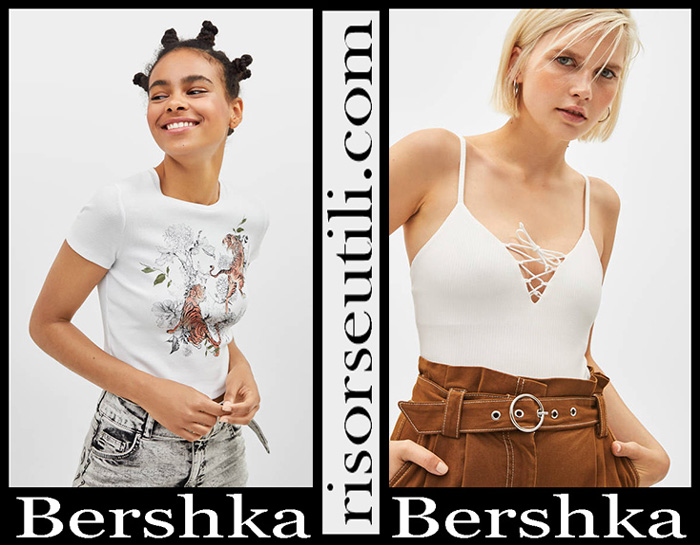New Arrivals Bershka 2019 Women's T Shirts