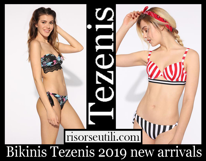 New Arrivals Tezenis 2019 Women's Swimwear