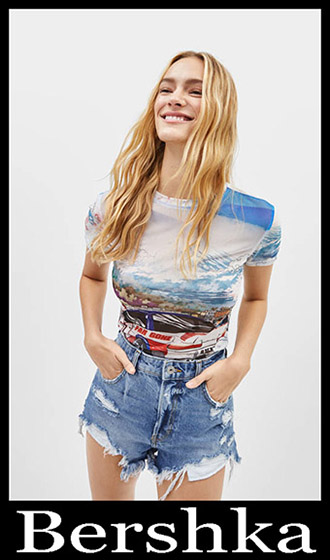 T Shirts Bershka 2019 Women's New Arrivals Summer 22