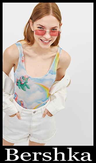 T Shirts Bershka 2019 Women's New Arrivals Summer 6