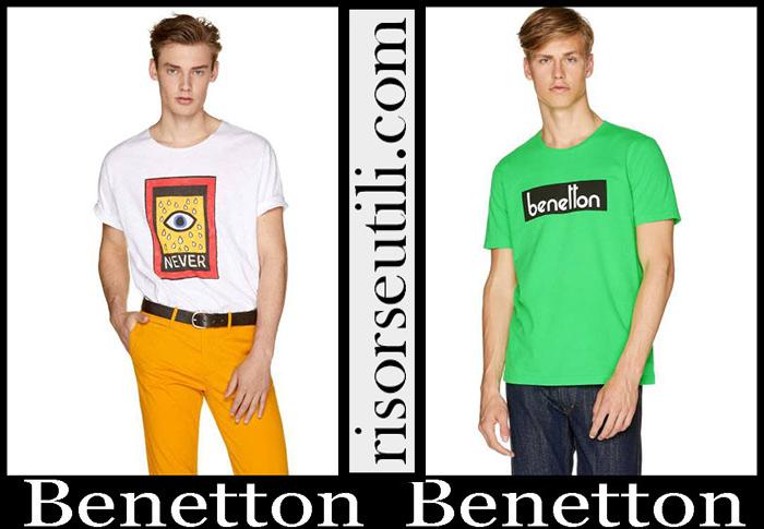 New Arrivals Benetton 2019 Men's T Shirts