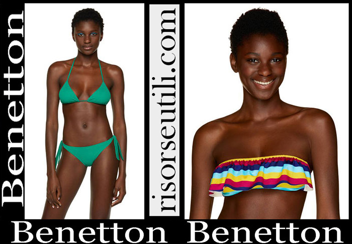 New Arrivals Benetton 2019 Women's Swimwear