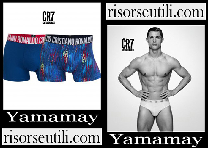 New Arrivals CR7 Yamamay 2019 Men's Accessories