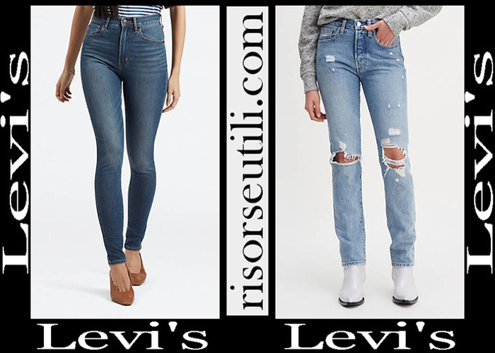 New Arrivals Levis 2019 Women's Denim