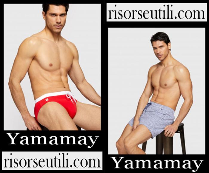 New Arrivals Yamamay 2019 Men's Swimwear