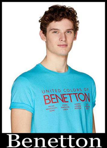 T Shirts Benetton 2019 New Arrivals Mens Summer 11