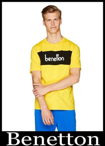 T Shirts Benetton 2019 New Arrivals Mens Summer 12