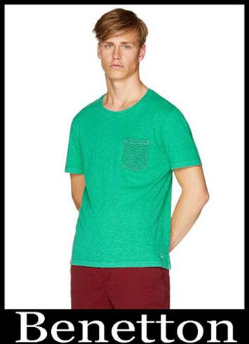 T Shirts Benetton 2019 New Arrivals Mens Summer 13