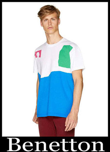 T Shirts Benetton 2019 New Arrivals Mens Summer 17